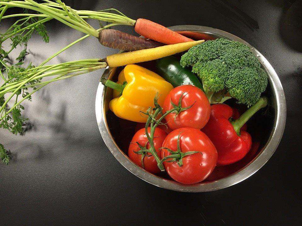 Wash Veggies and Fruits